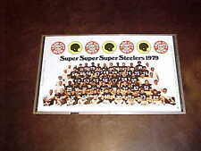 1979 Pittsburgh Steelers Iron City Beer Team Photo Beer Can Proof