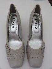 Escarpins gris clair neufs T39 cuir