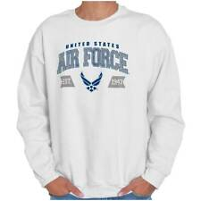 Athletic USAF Air Force American Official Crewneck Sweat Shirts Sweatshirts