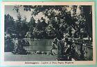 SALSOMAGGIORE Laghetto al Parco Regina Margherita - cartolina viaggiata 1950