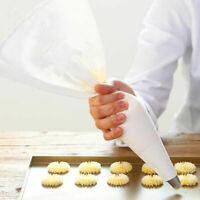 ITS- HOT Cotton Fabric Reusable Cake Decor Icing Piping Pastry Bag Baking Tools