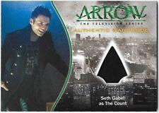 Arrow Season 1 Costume Wardrobe Relic Card Seth Gabel Count M23 M-23 Fringe