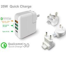 4 Port USB Type C QC 3.0 Quick Charger Charging Station Hub in AU UK EU US Plug