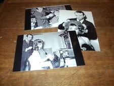 SHEILA LOT DE PHOTOS FORMAT 10*15 N&B - THEME 044 COIFFEUR - 3 PRISES