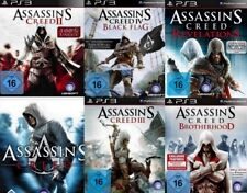 Playstation 3 Assassins Creed SIX PACK 1 +2 +3 + 4 + Brotherhood Revelations Gut
