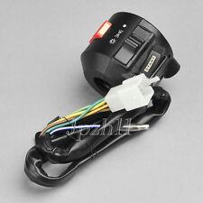 "Motorcycle 7/8"" Handlebar Light Flameout Electrical Start Right Switch Honda J03"