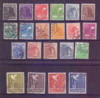 All.Bes. Kontrollrat 1946 - MiNr.943/962 rund gestempelt - Michel 120,00 € (239)