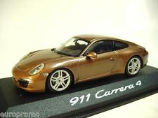 1:43 MINICHAMPS 2012 PORSCHE 911 (991) Carrera 4 Coupe RARE DEALER PROMO MODEL !