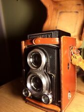 VINTAGE MAMIYAFLEX TLR CAMERA WITH 80MM F2.8 LENS