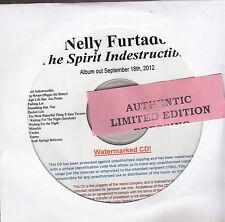 nelly furtado the spirit indestructible cd new promo