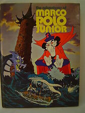 THE ADVENTURES OF MARCO POLO JUNIOR Animated tie-in book SIGNED by 13 artists