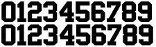 Full Sized Helmet Number Decal for Oakland Raiders Helmets - Set of 20