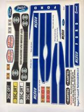 MkI Ford Escort corps Decal Set Bleu 1:10
