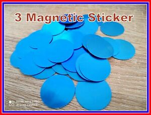 3 x  Metal Plate Sticker Replacement For Magnetic Car Mount Magnet Phone Holder