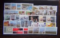 South Africa 1978 1984 sets Scouts Fossils Fuel Navy Tourism Vorster TB MNH