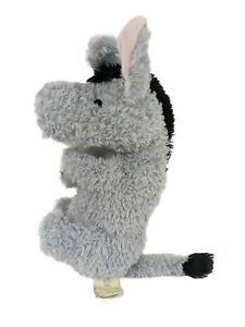 """Classic Pooh by Disney EEYORE Plush 13"""" CLEAN For Newborns & Up"""