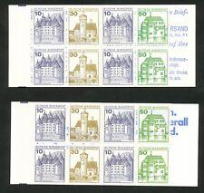 Bundespost Boekjes 22 I aoZ + 22 I adK2oZ postfris