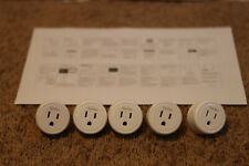5 Smart Plug Work with Alexa and Google Home, TanTan WiFi Outlet Mini Socket Set