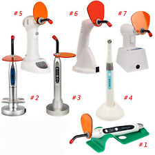 7 Types Dental Led Curing Light Lamp Cordless Composite Resin Cure Lamps