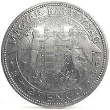 HUNGARY (Ungheria) 2 PENGO 1929