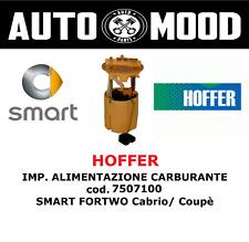 HOFFER - IMP. ALIMENTAZIONE CARBURANTE cod. 7507100 - SMART FORTWO Cabrio/Coupé