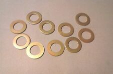 QTY 10 PLATED STEEL AN960-1490 HARD WASHERS A9