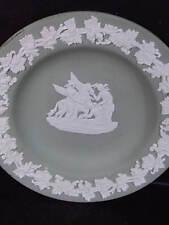 Wedgwood Jasperware Muses Watering Pegasus Green Ash Tray