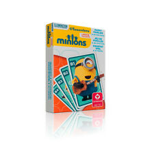 MINIONS HAPPY FAMILIES / Action Play Puzzle Card Game - Great for Kids Learning