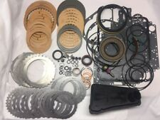4R100 MASTER REBUILD KIT W/PISTONS, BAND, FILTER, CASE AND PUMP BUSHING 98+