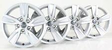 Audi A4 8W B9 Alufelgen 16 Zoll felgen silber Felgensatz 8W0601025A