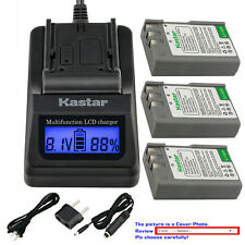 Kastar Battery LCD Fast Charger for EN-EL9a MH-23 & Nikon D60 SLR Digital Camera