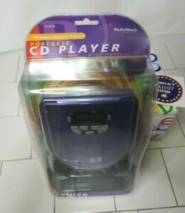 Radio Shack CD Player 42-6020 Portable CD Player with Complete Car Kit
