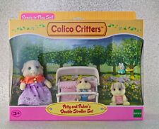 Sylvanian Families Calico Critters Patty and Paden's Double Stroller