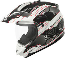 GMAX GM11 D/S ADVENTURE HELMET FLAT WHITE/BLACK/RED M
