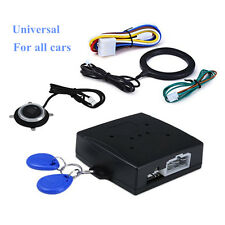 Keyless Entry Car Alarm RFID System W/ Push Button Start Remote Engine Starter