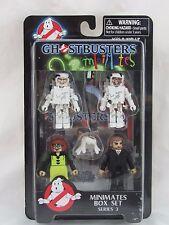Ghostbusters Minimates Series 3 Box Set, Gooey Egon Gooey Winston Janine Walter