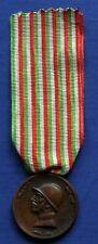 ITALY W.W.I WAR BRONZE MEDAL FROM ENEMY CANNONS CONIATA BRONZO NEMICO SACCHINI 2