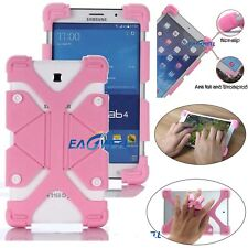 """Pink Universal Kids Safe Shockproof Silicone Cover Case For 7"""" ~ 10.1"""" Tablet FZ"""