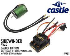 CASTLE CREATIONS SIDEWINDER SV4 WP 1:10 ESC/Motor Combo (5700kV) CSE010016402