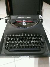 TYPEWRITER MANUAL  REMINGTON  DELUXE  MODEL  5  MADE  IN  CANADA