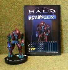 8) Halo ActionClix #023 MAJOR ELITE - PLASMA RIFLE with Stats Card. 2007