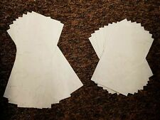 Handmade Mulberry Paper 10 sheets of A5 or 1/2 A4 art/craft/decoupage/silk wrap