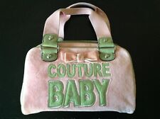 Juicy Couture Baby Velour Makeup Hand Bag