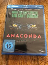 Anaconda [Bluray] Jennifer Lopez, Ice Cube, neu, ovp