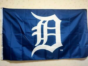 Detroit Tigers Flag 3X5 FT MLB Banner Polyester FAST SHIPPING!!!