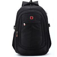 Men Women Casual Swiss Laptop Backpack Computer Notebook Travel School Bag