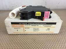 Federal Pacific Nagf15 15 Amp Ground Fault Stab Lock Breaker