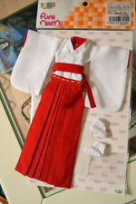 AZONE Doll - Shrine Maiden Costume Set / White x Red Pure Neemo M size - Outfit