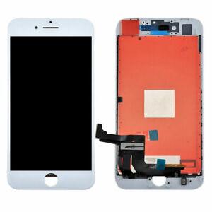 LCD PER APPLE IPHONE 8 + PLUS BIANCO DISPLAY TOUCH SCREEN FRAME SCHERMO RETINA