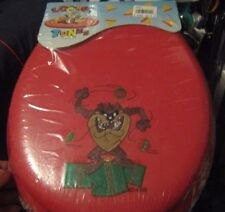 Looney Tunes Tazos Toiler Seat Red Seat Tazos Attacking Christmas Commode Seat